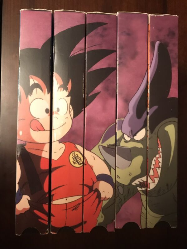 Dragon Ball Tournament Saga VHS Uncut Complete Box Set 2001 Episodes DBZ Tapes