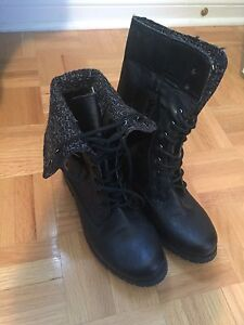 Brand new spring combat boots! 8.5, really cute.