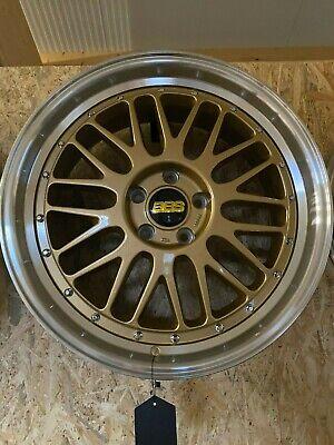 4x Keskin KT 22 8,5x19 ET45 5x112 VW Audi Seat Skoda Mercedes Felgen gold Retro