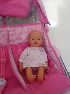 Baby born baby alive doll