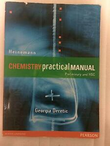 HEINEMANN HSC & Preliminary Chemistry Practical Manual Belrose Warringah Area Preview
