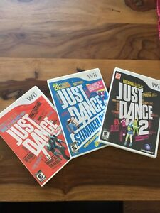 Nintendo wii Just dance jeux