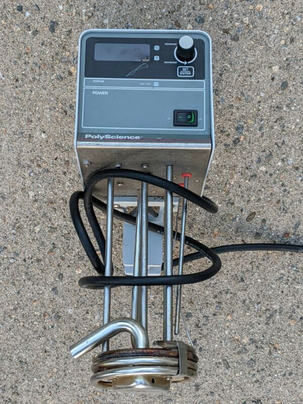 PolyScience 7305 Water Bath Heater Pump lightly used Free S&H