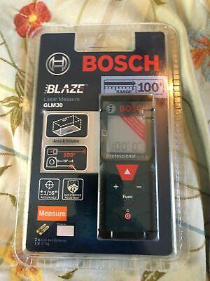 Bosch Glm 30 100ft Laser Measure Brandnew