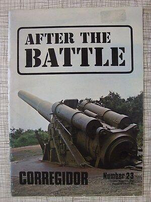 After The Battle # 23 (Corregidor, Philippines, Battery Hearn, Dunkirk Tank WW2)