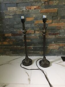 Pair of reading lamps