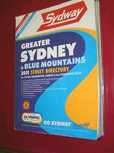 SYDWAY-SYDNEY STREET DIRECTORY 2001 Richardson Tuggeranong Preview
