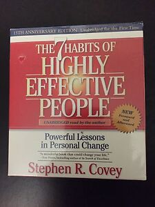 7 Habits of Highly Effective People. Unabridged  13 CDs.