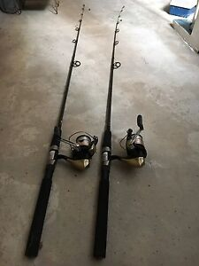 2 fishing rods Manly Manly Area Preview