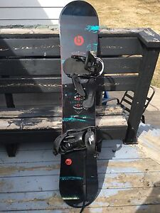 K2 Snowboard with gear!