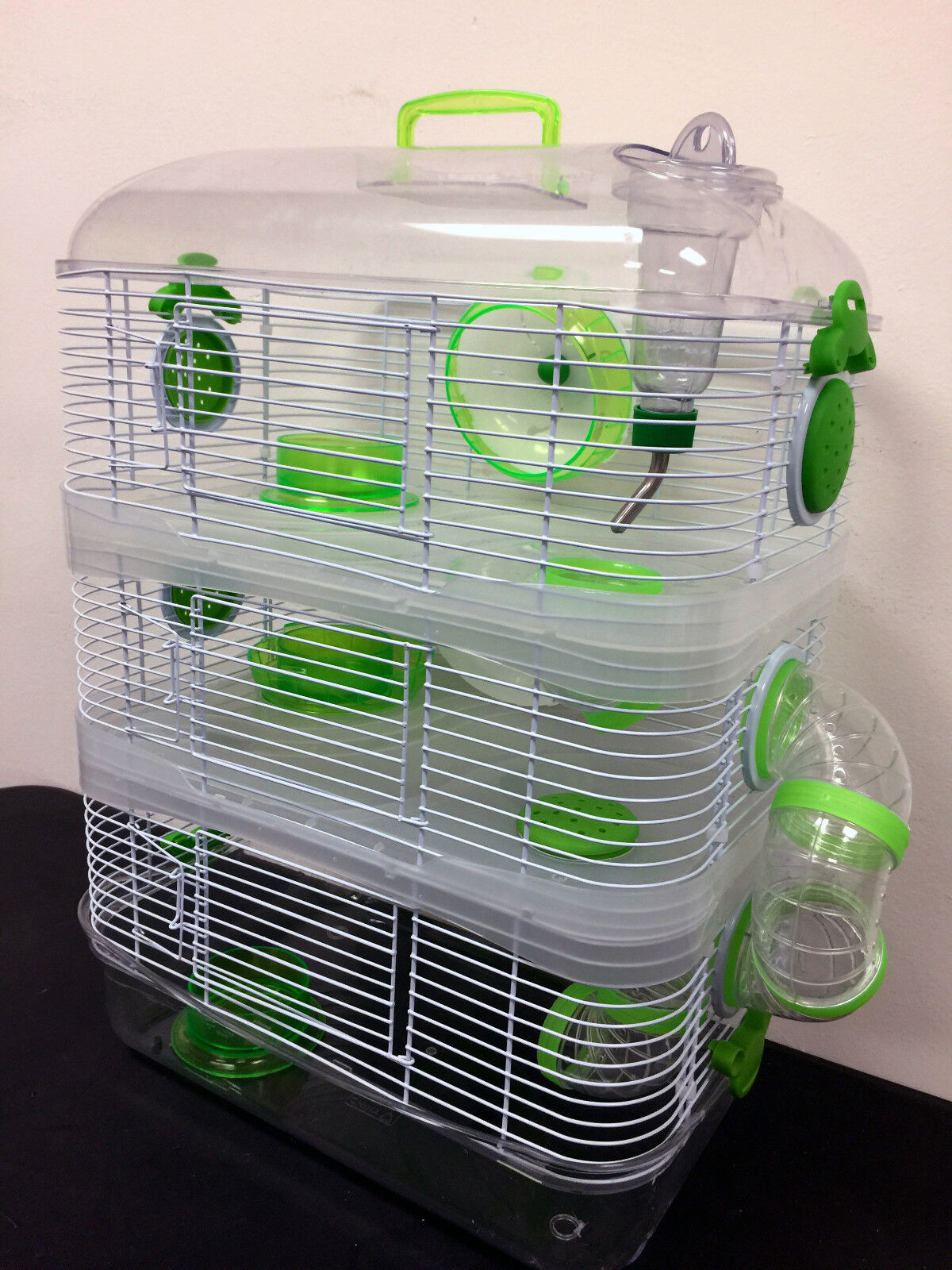 Acrylic 3-Solid Level Dwarf Hamster Rodent Gerbil Mice Mouse
