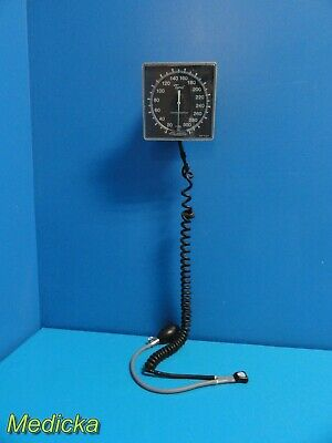 Tycos Welch Allyn Aneroid Jewel Movement Sphygmomanometer W Coil Bulb 17507