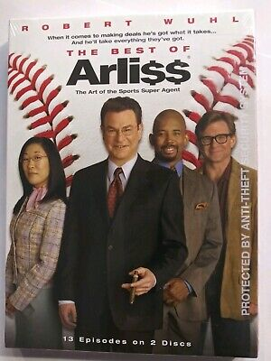 Arli$$ The Best of Arliss [DVD 2-Disc Set] HBO TV series sitcom collection -