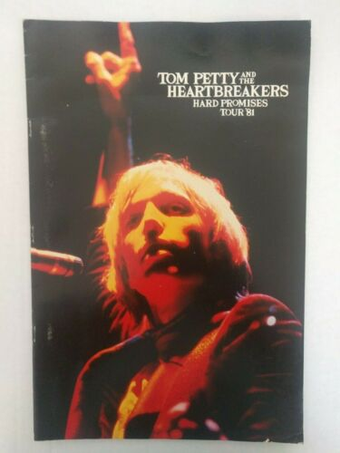 Tom Petty And The Heartbreakers Hard Promises Tour Program 1981