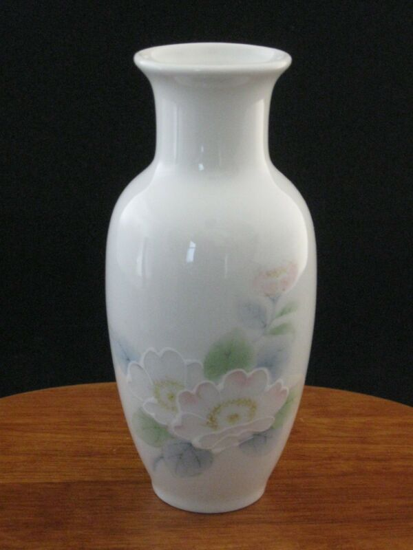 "Otagiri Peony 6"" Vase Made in Japan"