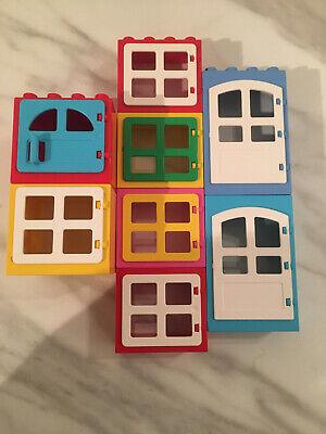 LEGO Duplo Windows/doors FREE UK POSTAGE