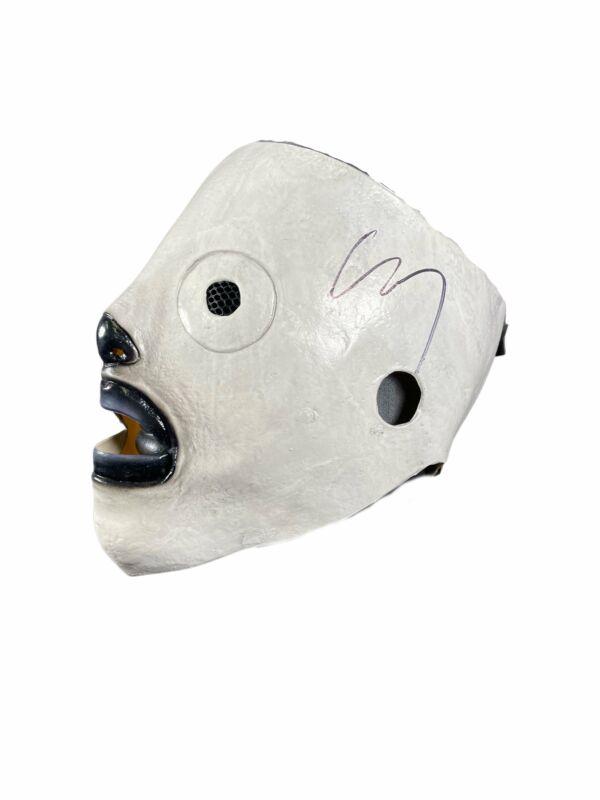 Corey Taylor Autograph Slipknot Mask Signed JSA COA 2