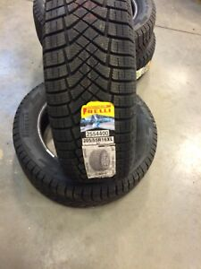 Pirelli winter tires and Michelin summer tires