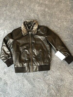 leather jacket For Boys - Genuine Leather Black](Black Leather Jacket For Boys)