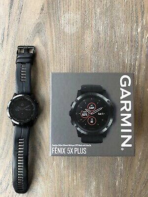 Garmin fēnix 5X Plus 51mm Black Case and Black Band GPS Multisport Watch