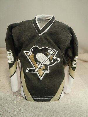 Penguin Jersey Sweater - 2003/04 PACIFIC HEADS UP NHL MARC ANDRE FLEURY PENGUINS MINI SWEATER JERSEY