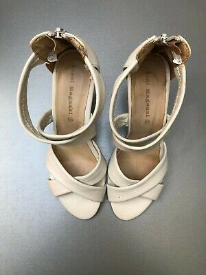 Chaussures (Sandales) blanches Ciao ! Ragazzi neuves - Pointure 38 (A)