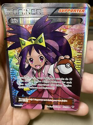 Iris Full Art 101/101 Plasma Blast Pokemon Card PL