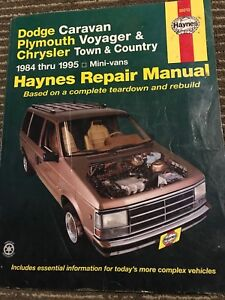 Dodge Caravan Plymouth Voyager & Chrysler Town & Country