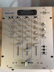 Stanton 3ch mixer