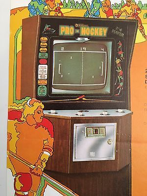 """PRO-HOCKEY by WILLIAMS 1974 """"RARE"""" MINT CONDITION (PONG ERA) IN PLASTIC COVER"""