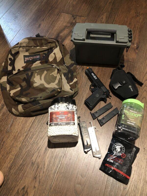 Airsoft Pistol Bundle