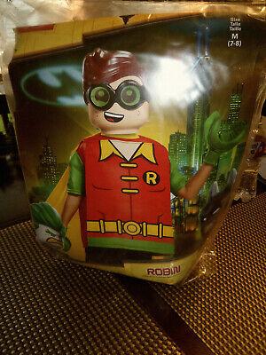Child Boys Lego Batman Movie Classic Lego Robin Tunic Halloween Costume, Medium