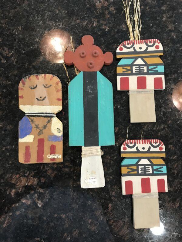 Vintage Hopi Kachina / Katsina Doll - -Flat Cradle Kachina Lot