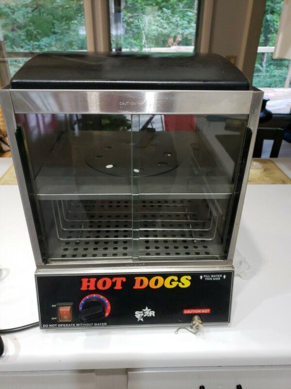 Star 35sxe Hotdog Warmer Hot Dogs