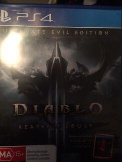 Diablo; Reaper of Souls PS4 Raymond Terrace Port Stephens Area Preview