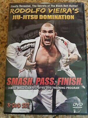 RODOLFO VIEIRA Jiu Jitsu DOMINATION 4 DVD Training Set Brazilian used
