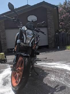KTM 390 Duke Road Bike Menai Sutherland Area Preview