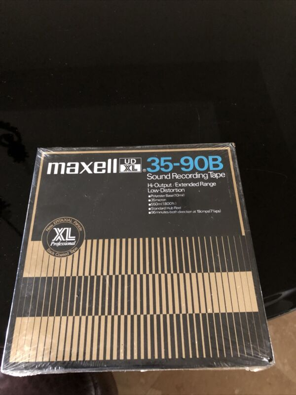 Maxwell 35-90B UD XL New Factory Sealed Reel To Reel