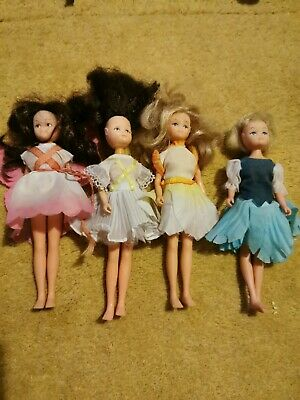 Vintage Hornby Flower Fairies Fairy Dolls Lot 80s