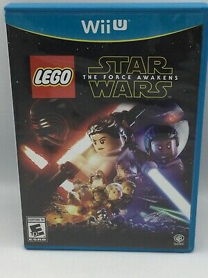 Lego Star Wars The Force Awakens WiiU Wii U Free Shipping