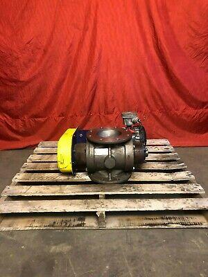 Bush Wilton 6 Rotary Airlock Valve W 0.5 Hp Motor