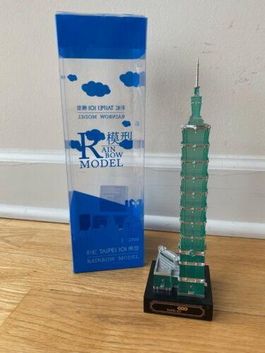 Taipei 101 Model Limited Edition Geocraper Scale 2500:1 - NEW in box