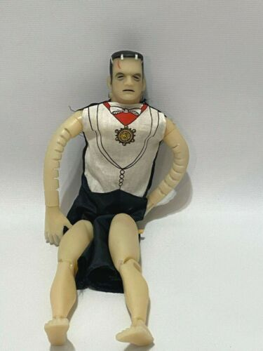 Vintage Frankenstein Monster Figure 1979 Universal Remco Dracula Costume AS IS