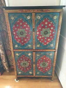 Painted Bar Cabinet