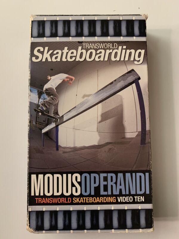 2000 Transworld Modus Operandi VHS Skate Video Skateboard