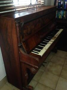 Old Mignon German piano. Gordonvale Cairns City Preview