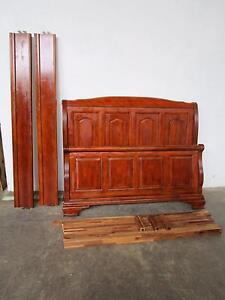 C50076 Lovely Solid Timber Queen Size Bed Mount Barker Mount Barker Area Preview