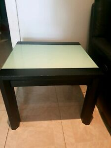 Timber&Glass Table- in Excellent Condition!