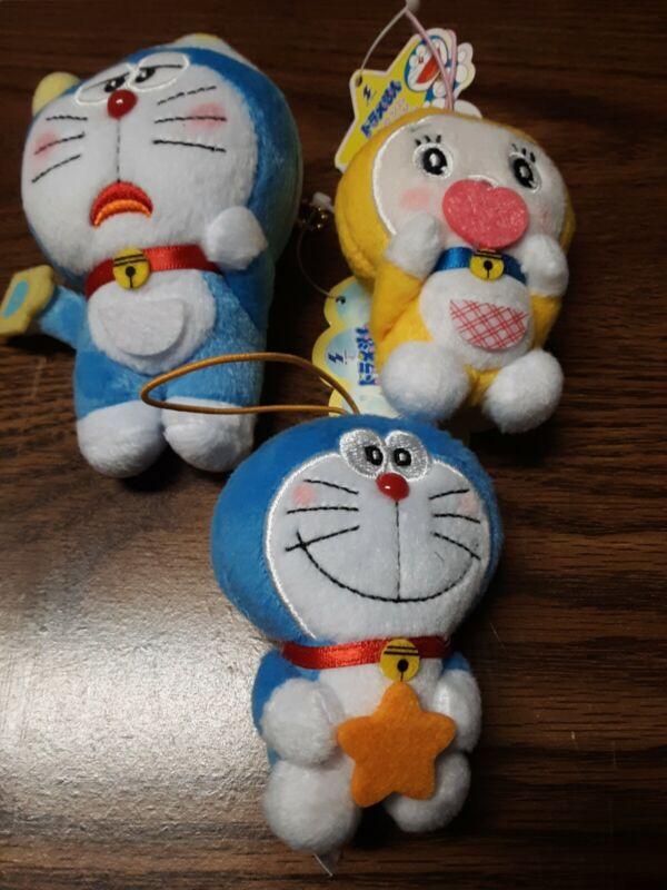 Doraemon Plush Mascot Keychain & Strap Lot Official Japan Anime Manga Kawaii Cat