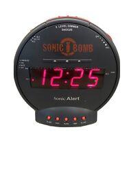 Sonic Boom SBB500ss vs3 Sonic Bomb Loud Alarm Clock Wake The Earth Free Shipping